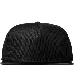 Stampd Black Mesh Standard Snapback Cap Picture