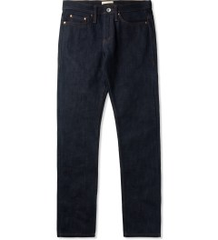 The Unbranded Brand UB221 Indigo Tapered 21oz Heavy Selvedge Jeans Picutre