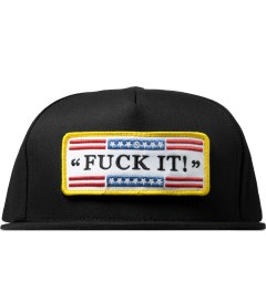 HUF Black Fuck It Tactical Snapback Cap Picture
