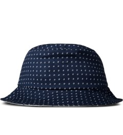 Raised by Wolves Navy Morocco Blues Gatineau Bucket Hat Picutre