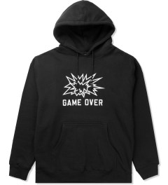 SSUR Black SSUR Game Over Pullover Hoodie Picutre