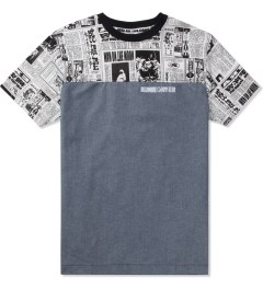 Billionaire Boys Club Chambray S/S Space News Crewneck T-Shirt Picture
