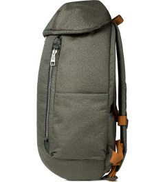 ULTRAOLIVE Grey/Rust Pebble Backpack Model Picutre