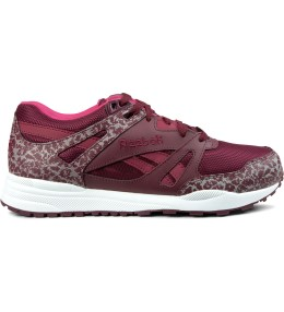 Reebok Burgundy/White/Pink Ventilator Reflective Shoes Picture