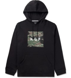 HUF Black Tiger Camo Pullover Hoodie Picture