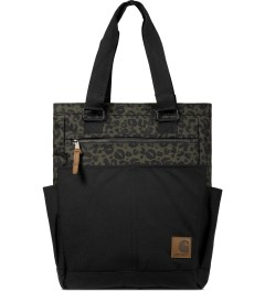 Carhartt WORK IN PROGRESS Cypress/Black Panther Print Moore Bag Picutre
