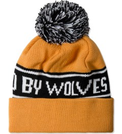 Raised by Wolves Yellow Bruno Toque Beanie Model Picture