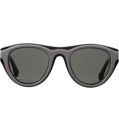MYKITA Mykita x Maison Martin Margiela Black/Black MMDUAL003 Dark Grey Solid Sunglasses Picutre