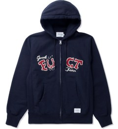 FUCT SSDD Black SSDD GOOD CHARM ZIP HOODIE Picture