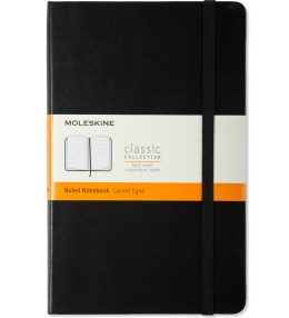 MOLESKINE Black Hard Cover Ruled Large Notebook Picture
