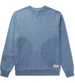P.A.M. Denim Blue Polygon Sweat Top Sweater Picture