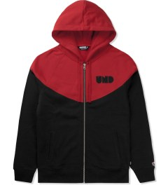Undefeated Black Capitol Zip Hoodie Picutre