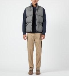 Penfield Grey Outback Vest Down Insulated Vest Model Picture