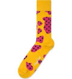 Happy Socks Yellow/Pink Cow Socks Picture