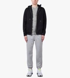 SUNSPEL Grey Melange Sweat Top Sweater Model Picutre