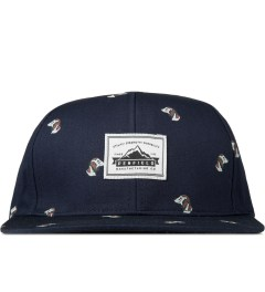 Penfield Navy Hound Print Kramer Adjustable Cap Picture