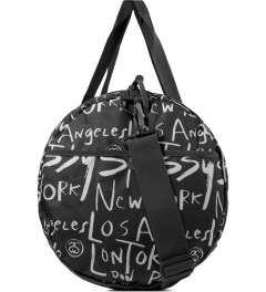 Stussy Black Print Stussy x Herschel Supply Co. Cities Large Duffle Bag Model Picture