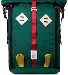 TOPO DESIGNS Teal Roll Top Backpack Picture