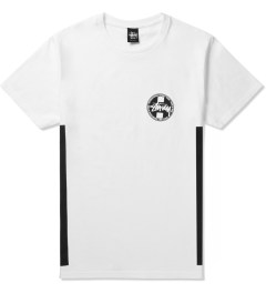 Stussy White Worldwide Dot T-Shirt Picture