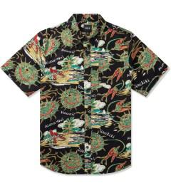 HUF Black Souvenir S/S Woven Shirt Picture