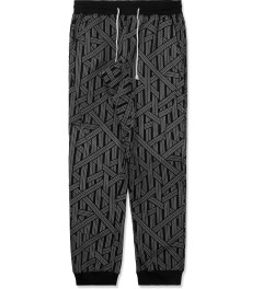 The Quiet Life Black/Grey Rope Jogger Pants Picture