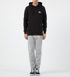 Stussy Heather Grey World Tour Sweatpants Model Picture