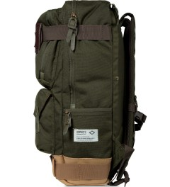 BLC Khaki Definition Backpack Model Picture