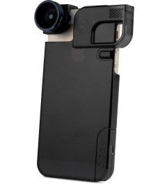 olloclip Black Lens/Black Clip and Black Case olloclip iPhone 5/5s: 4 in 1 Lens + Quick Flip Case and Pro-Photo Adapter Picture