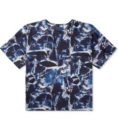 Études Studio Navy Marble Powder S/S T-Shirt Picture