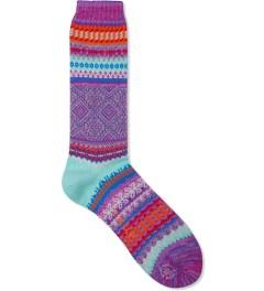 CHUP Violet Litir Socks Picutre