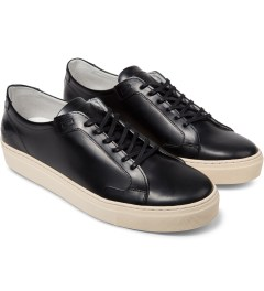 piola Polido Black ICA Shoes Model Picutre