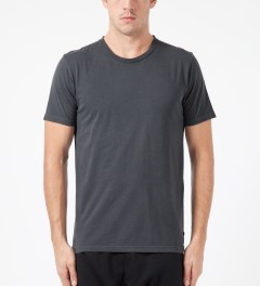 Surface to Air Grey Washed Out T-Shirt Model Picture