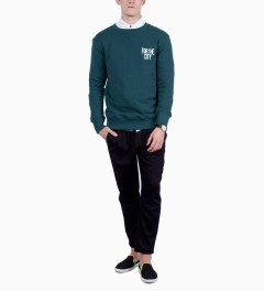 FTC Green For The City Sweatshirt Model Picture
