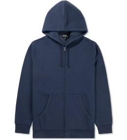 A.P.C. Navy Champion Hoodie Picture