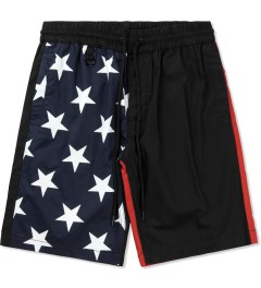 Publish Raised by Wolves x Publish Black Wren Enlarged Star Pattern Shorts Picture