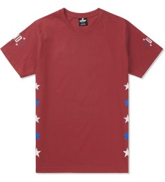 Undefeated Red Global T-Shirt Picutre