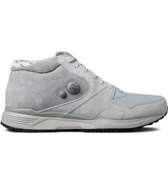 Reebok Garbstore x Reebok Carbon/Steel/Grey M43012 GS Pump Running Dual Mid Shoes Picture