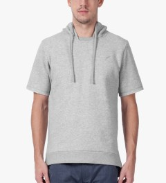 Publish Heather Grey Ash Hoodie Model Picture