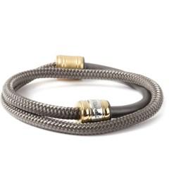 Miansai Solid Charcoal Half-Rope Noir Bracelet Picutre