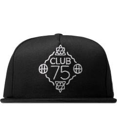 CLUB 75 HUF x Club 75 Black Snapback Cap Picutre