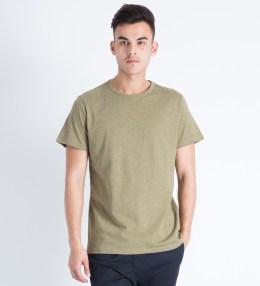 A.P.C. Khaki Bob S/S T-Shirt Picture