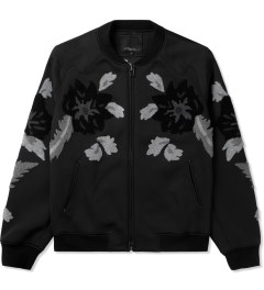3.1 Phillip Lim Midnight Floral Loop Embroidery Loose Fit Zip Up Jacket Picture