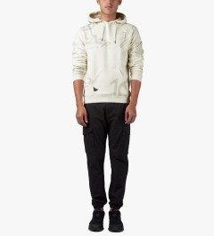 10.Deep Off White Full Clip Hoodie Model Picutre