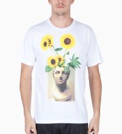 P.A.M. White Arrangement T-Shirt Model Picture
