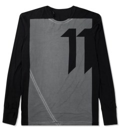 11 By Boris Bidjan Saberi Black LS-1 T-Shirt Picutre