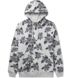 10.Deep Heather Grey Hibiscus Hoodie Picture