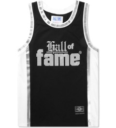 Hall of Fame Black Nix Basketball Jersey Picture