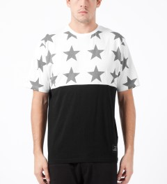 Black Scale White All Star T-Shirt Model Picture