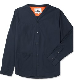 Penfield Navy Bawler Collarless Overshirt Picture