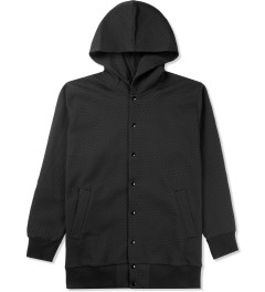 Études Studio Black Sphere Carbon Hooded Jacket Picutre